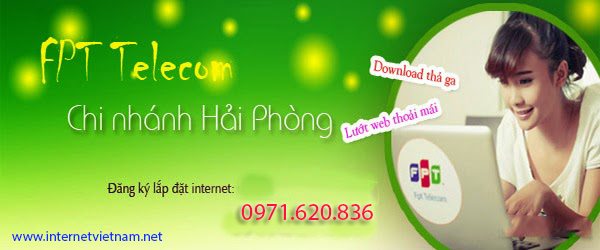 Đăng Ký Lắp Mạng Internet FPT Quận Kiến An, Hải Phòng