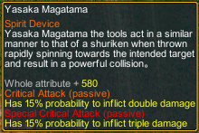 Naruto Counter Attack 7.8 Item Yasaka magatama detail