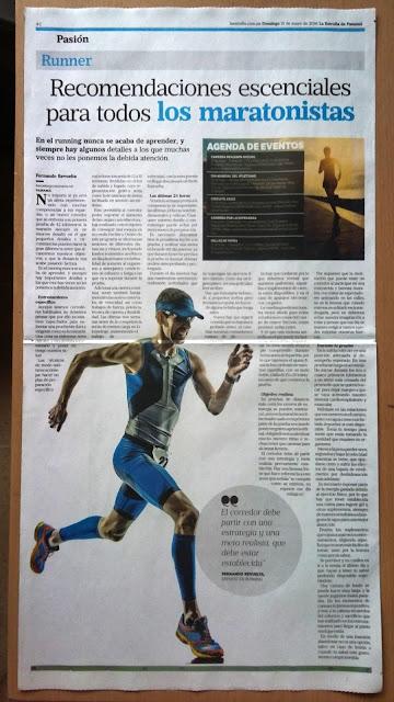 Consejos para maratonistas