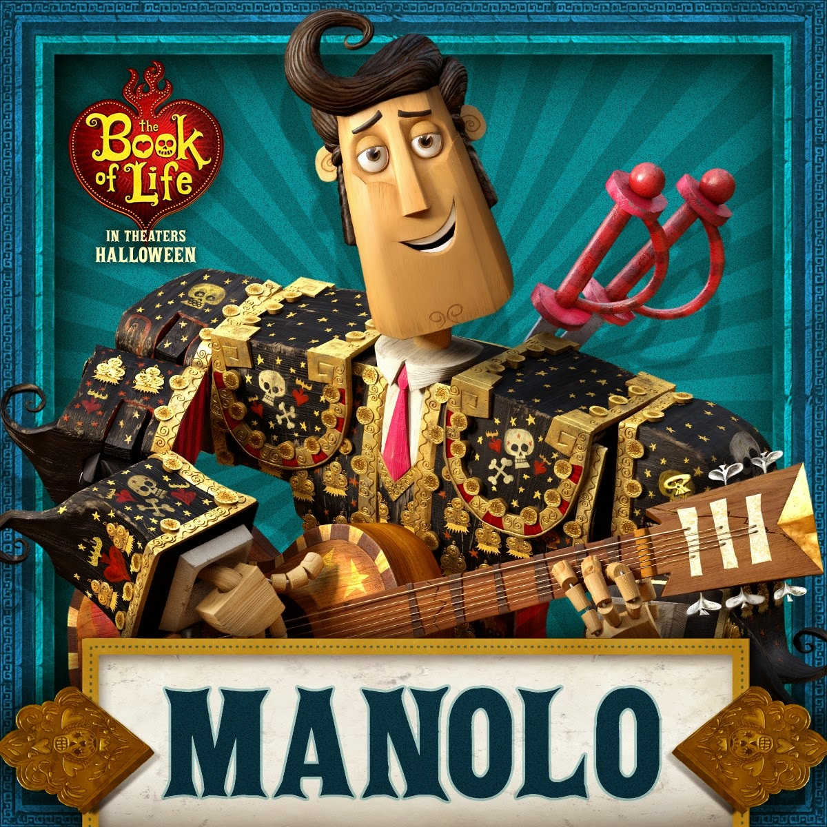 Allenation Get The Halloween Look Manolo The Book Of Life