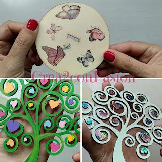 Cuelga-pendientes-decorado-con-transferencia-de-rotulador-foil-metalizado-y-pinturas-acrílicas-por-Crea2-con-Pasión