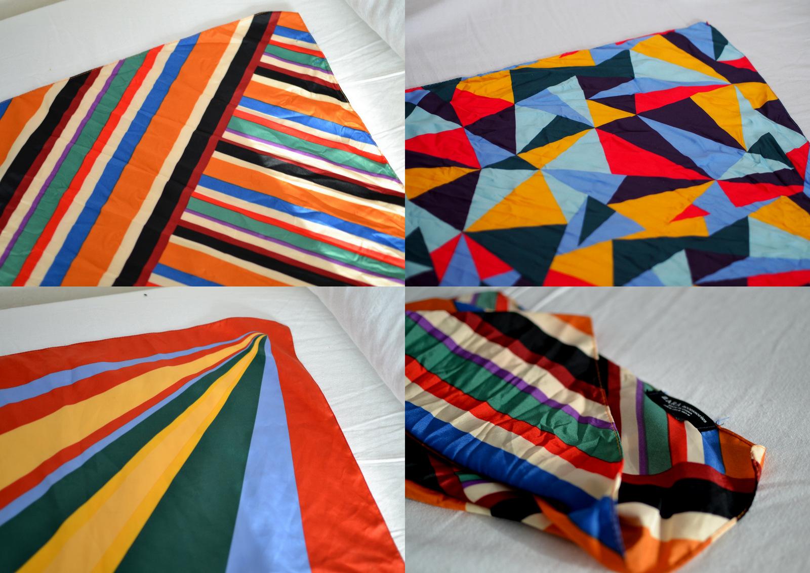 e5a57bad9388 Štvorcové šatky som si zamilovala už pred dvoma rokmi. V kolekcii Zara sa  objavujú takmer stále