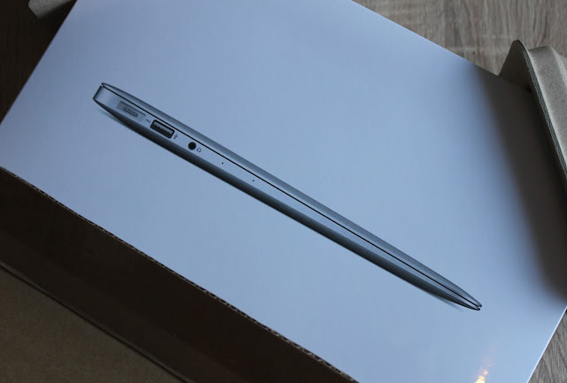 De doos van de MacBook