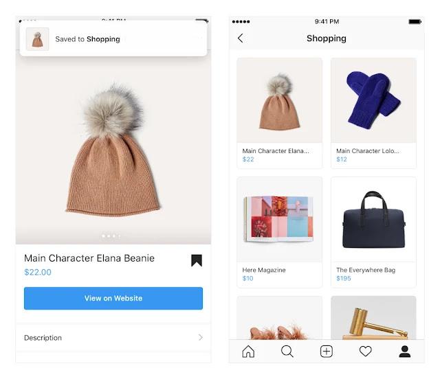 تحديث جديد لتطبيق انستقرام يضيف خيارات جديدة للتسوق