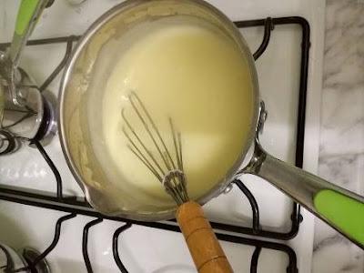 كيكة الليمون بالكريمة
