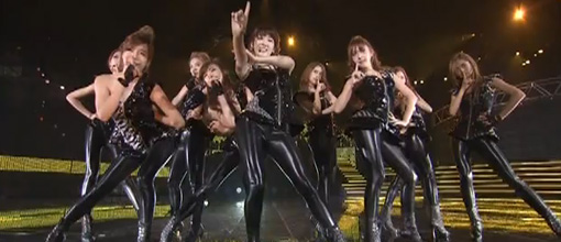 Girls' generation / Shoujo jidai / SNSD - The great escape & Mr. Taxi @ MTV VMA Japan | Live performance