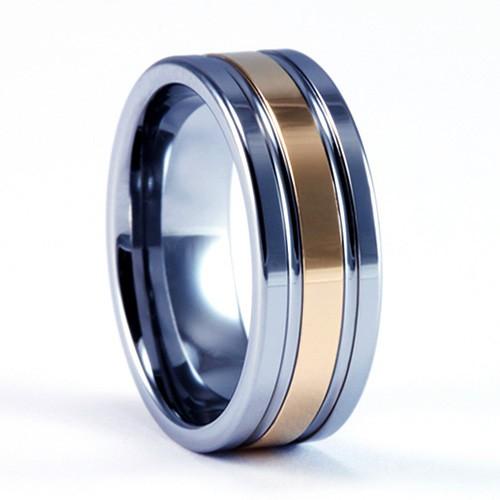Mens Wedding Rings Tungsten Carbide
