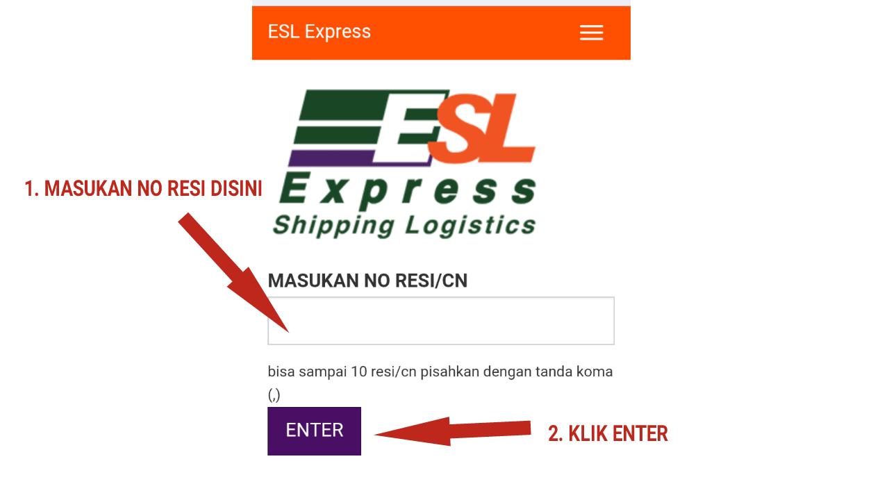 Cara Cek Resi Jasa Pengiriman ESL Express Mudah Dan Akurat