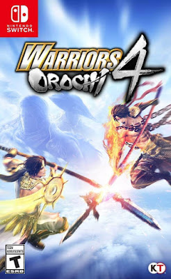 Warriors Orochi 4 Game Cover Nintendo Switch
