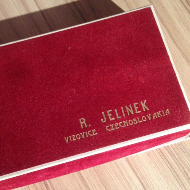 R. Jelinek VISOVICE CZECHOSLOVAKIA