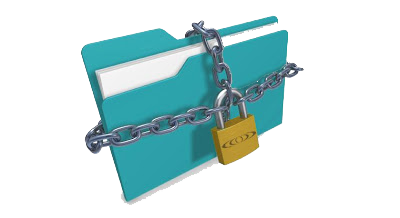 lock a folder or file without any software