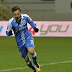 Gustavo Vagenin marca o gol da vitória do Craiova, pelo Campeonato Romeno