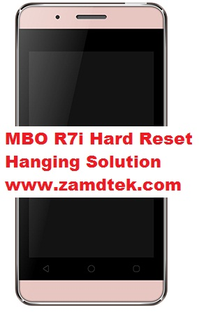 MBO R7i Android Hard Reset