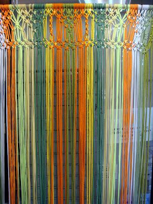 will 39 s wools zpagetti macrame vliegengordijn door hanging. Black Bedroom Furniture Sets. Home Design Ideas
