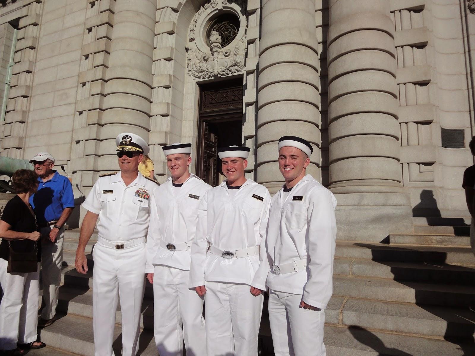 Midshipmen No More