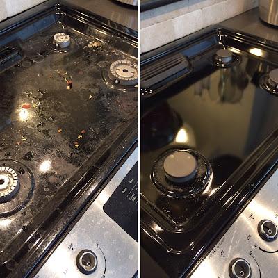 Kusanagigirl: How To Clean Your Stove Using Baking Soda