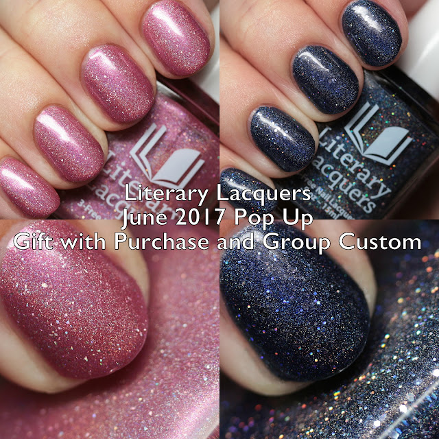 Literary Lacquers June 2017 Pop Up: Gift with Purchase and Group Cu