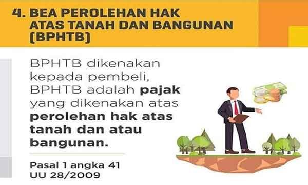 bea perolehan hak atas tanah dan bangunan - BPHTB