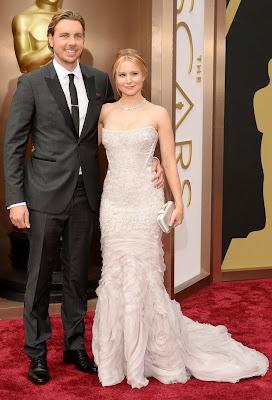 Oscars 2014 Kristen Bell Dax Sheperd