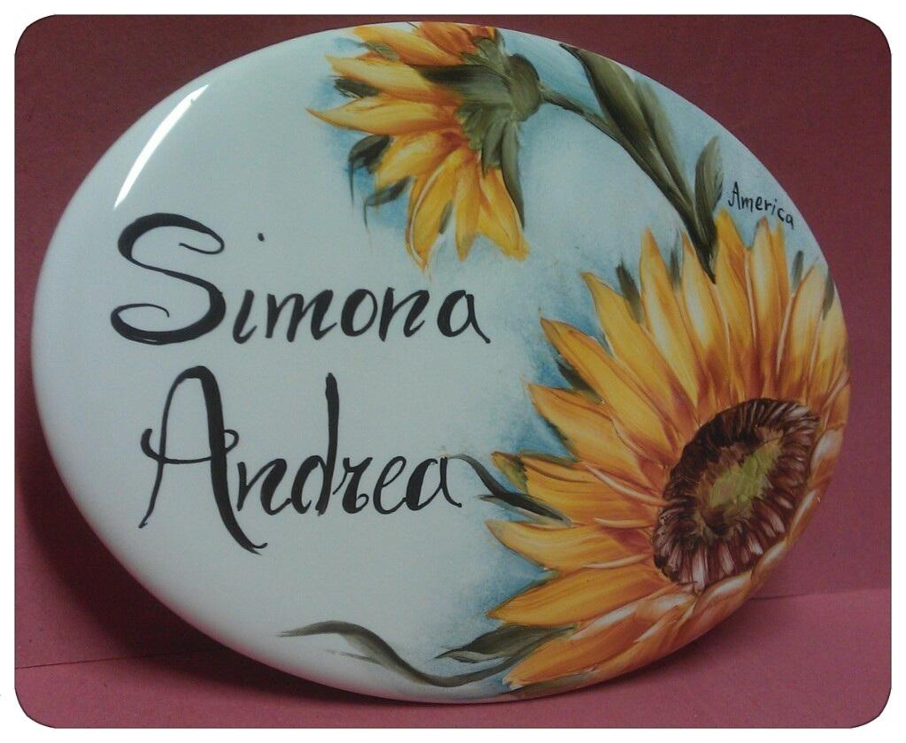 Targhette Per Porte In Ceramica.Le Ceramiche Del Lunedi Targhe Per Porte