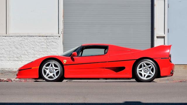 Ferrari F50 Italian supercar
