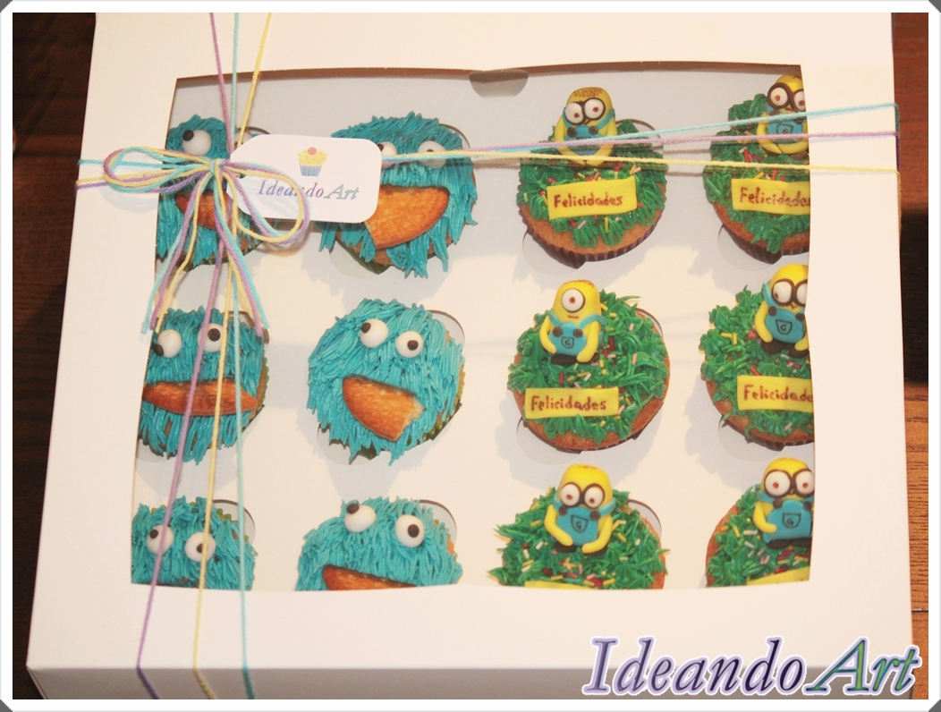 Cupcakes Trikis y minions