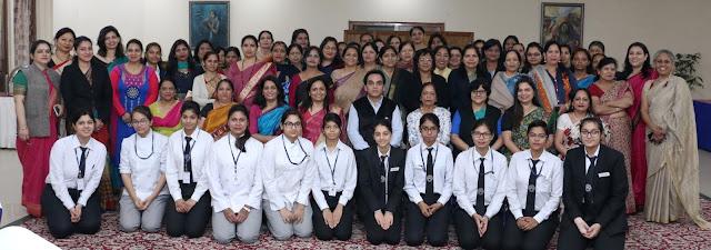 Shri Piyush Tiwari with ITDC Women Brigade-
