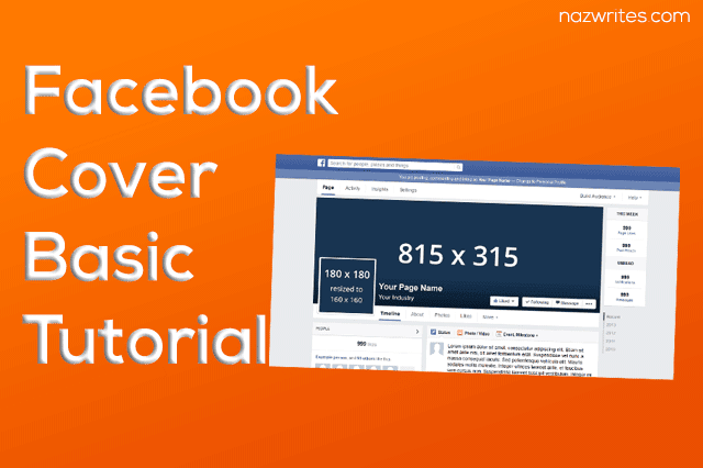 Facebook Custom Cover Photo Design in Adobe Photoshop