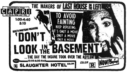 Don't Look in the Basement (There's a Plot Point Hiding)