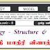 இறுதி மாதிரி வினாத்தாள் - உயிரியல் - Structure & Essay - (G.C.E. A/L) : S.H.A. Moulana - CTC Kandy