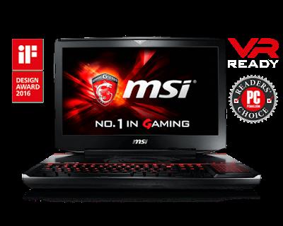 Laptop Gaming MSI GT80S 6QE Titan SLI