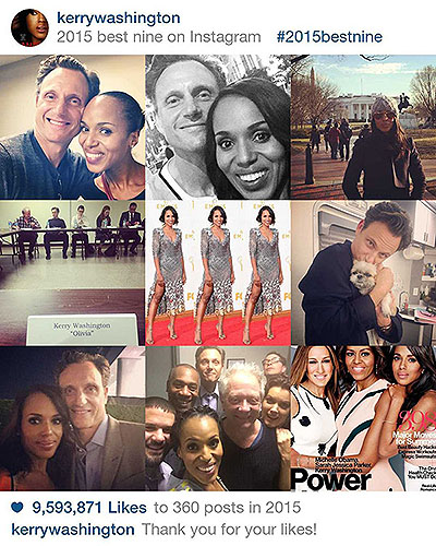 Instagram Kerry Washington
