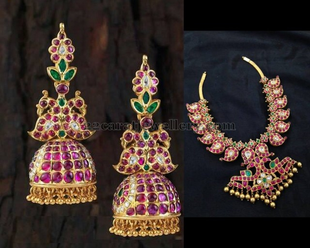 Mango Necklace Chandbalis