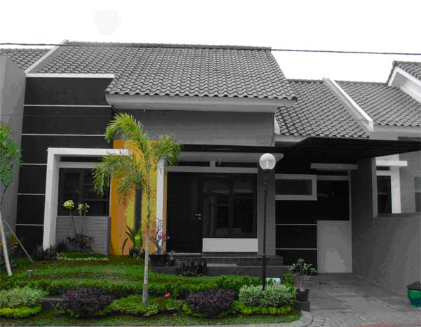 60 Gambar Rumah Minimalis 1 Lantai Tampak Depan dan Warna Cat Pilihan  Desainrumahnya.com