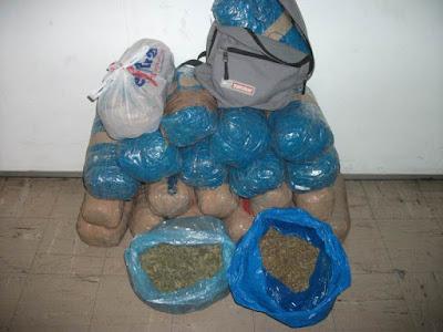 Τρικόρυφο Θεσπρωτίας: Εντοπίστηκαν δύο σάκοι με 12,5 κιλά κάνναβης