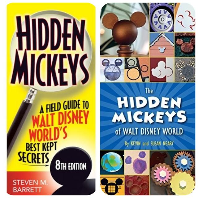 Publicações para localizar Hidden Mickeys