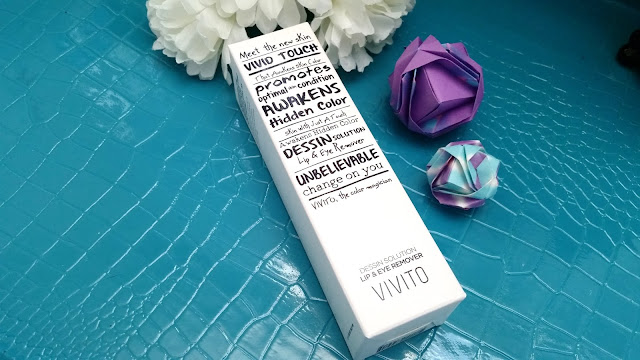 Vivito Dressin Solution Lip and Eye Makeup Remover Review