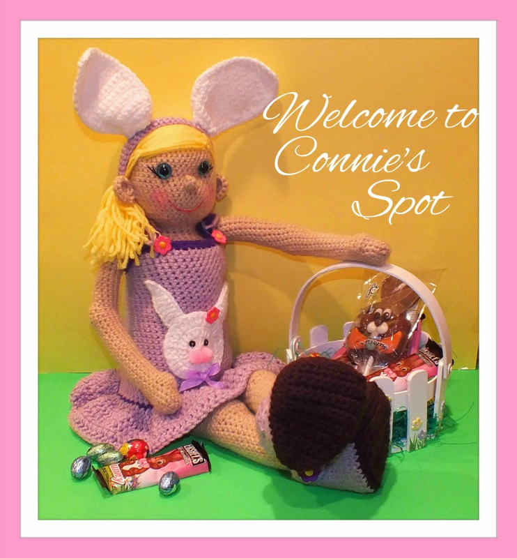 Shop Connie's Spot© and Connie Hughes Designs© Crochet Patterns and Finished Products on Etsy!!