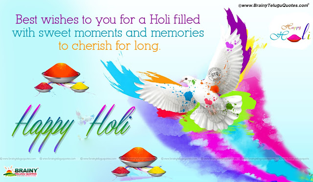 Best Holi wallpapers with Quotes in English, Holi messages Quotes in english