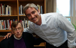 Bishop Spong and Eric Alexander