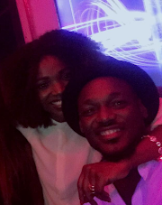 2Face and Annie Idibia loved up at Iyanya's post birthday party