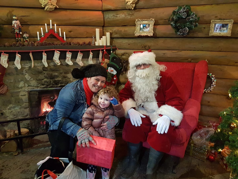 10 of the Best UK Christmas Breaks for Families 2018  - Santa at Longleat Safari Park