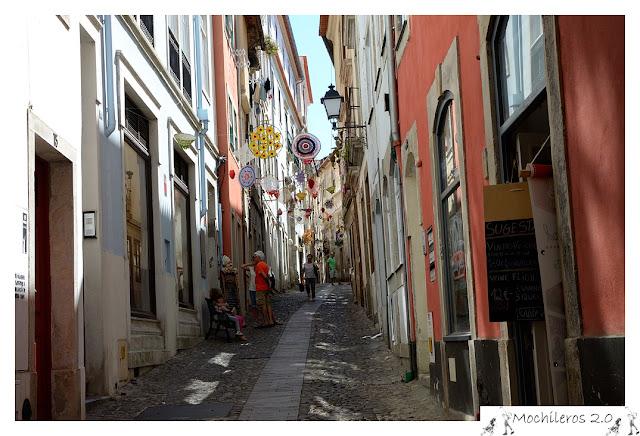 Calle del Casco Antiguo de Coimbra