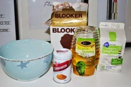 Ingrediënten gezichtsmasker