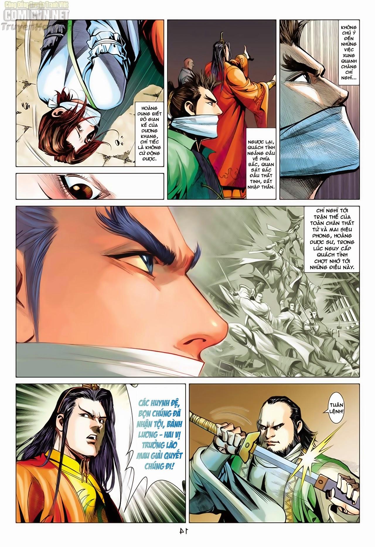 Anh Hùng Xạ Điêu anh hùng xạ đêu chap 66: nhạc châu đại hội trang 14