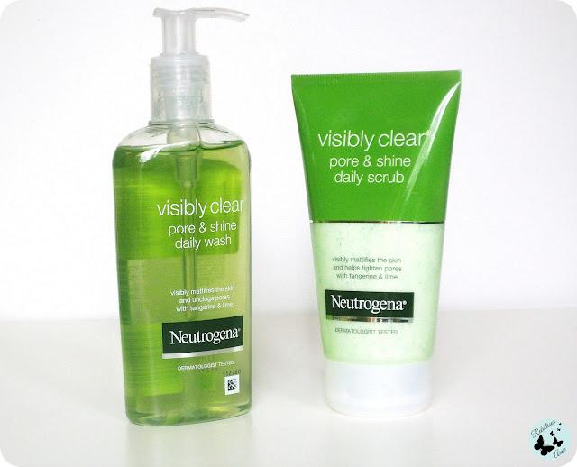 Moja recenzja - Neutrogena Visibly Clear Pore & Shine