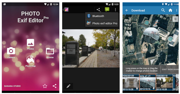 Photo exif editor Pro v1.4.0 Apk Android Download