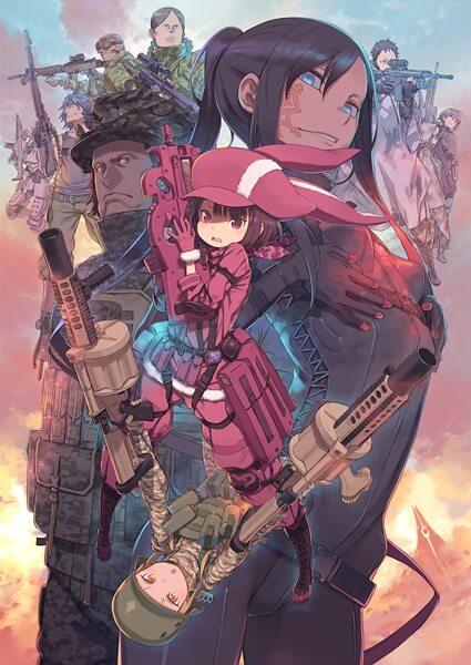 جميع حلقات انمى Sword Art Online Alternating - Gun Gate Online مترجم كامل اون لاين تحميل و مشاهدة جودة خارقة عالية بحجم صغير على عدة سيرفرات HD x265 1080p