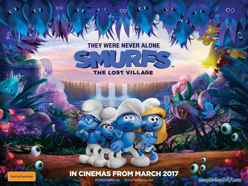 http://xemphimhay247.com - Xem phim hay 247 - Xì Trum: Ngôi Làng Kỳ Bí (2017) - Smurfs: The Lost Village (2017)