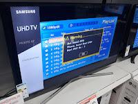 Samsung UE43MU6172U TV picture